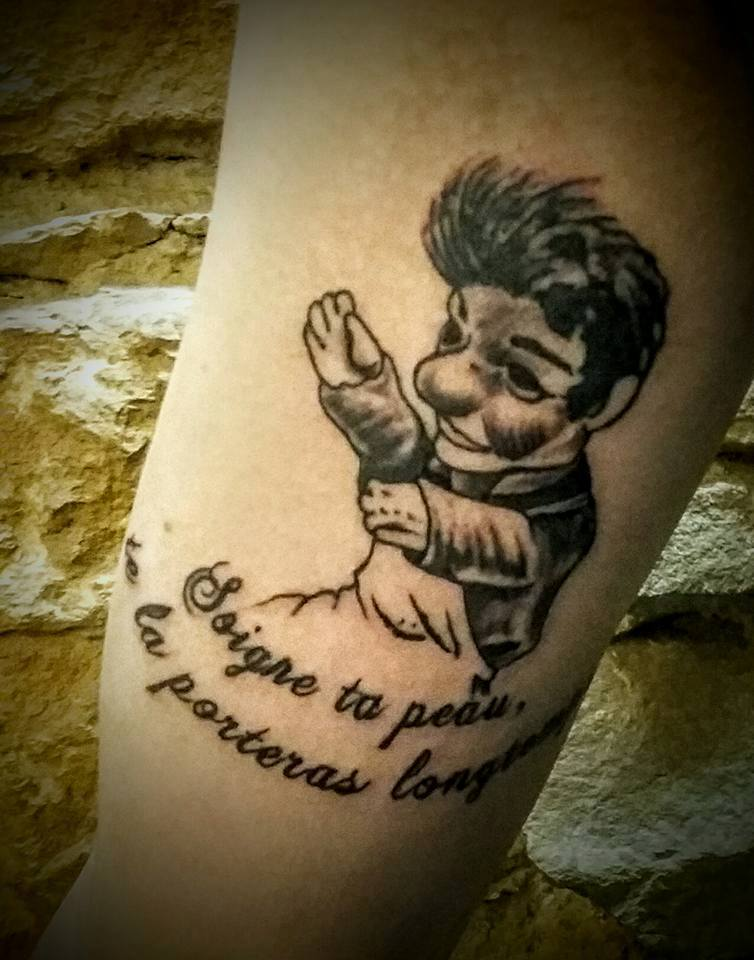 Tatouage Lyon Tatoueur Shop Pick Tattoo Guignol Gnafron Lyonnais Studio Pick Tattoo
